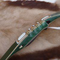 Poignée stabilisée vert et option fibre verte
